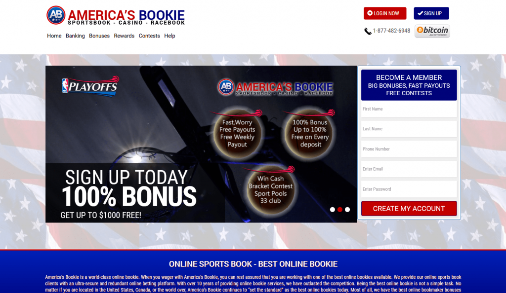Americas Bookie Review